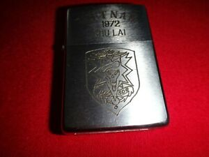 VIETNAM War Year 1973 Zippo Lighter VIETNAM HUE 73-74 And