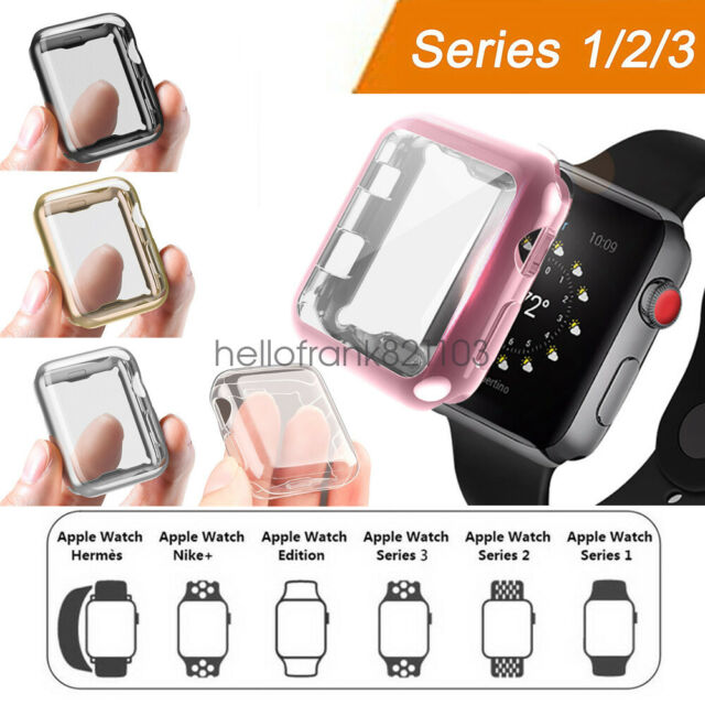 Apple Watch 38mm Clip On Case Screen Protector For Sale Online Ebay