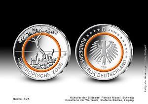 Subtropische Zone 2018 St Oranger Polymerring Prägestätte D München