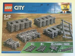 Lego-City-Train-Tracks-60205-Brand-NEW-and-Factory-Sealed-with-Free-Postage