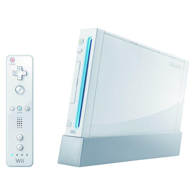 Nintendo Wii Launch Edition White Console (NTSC)