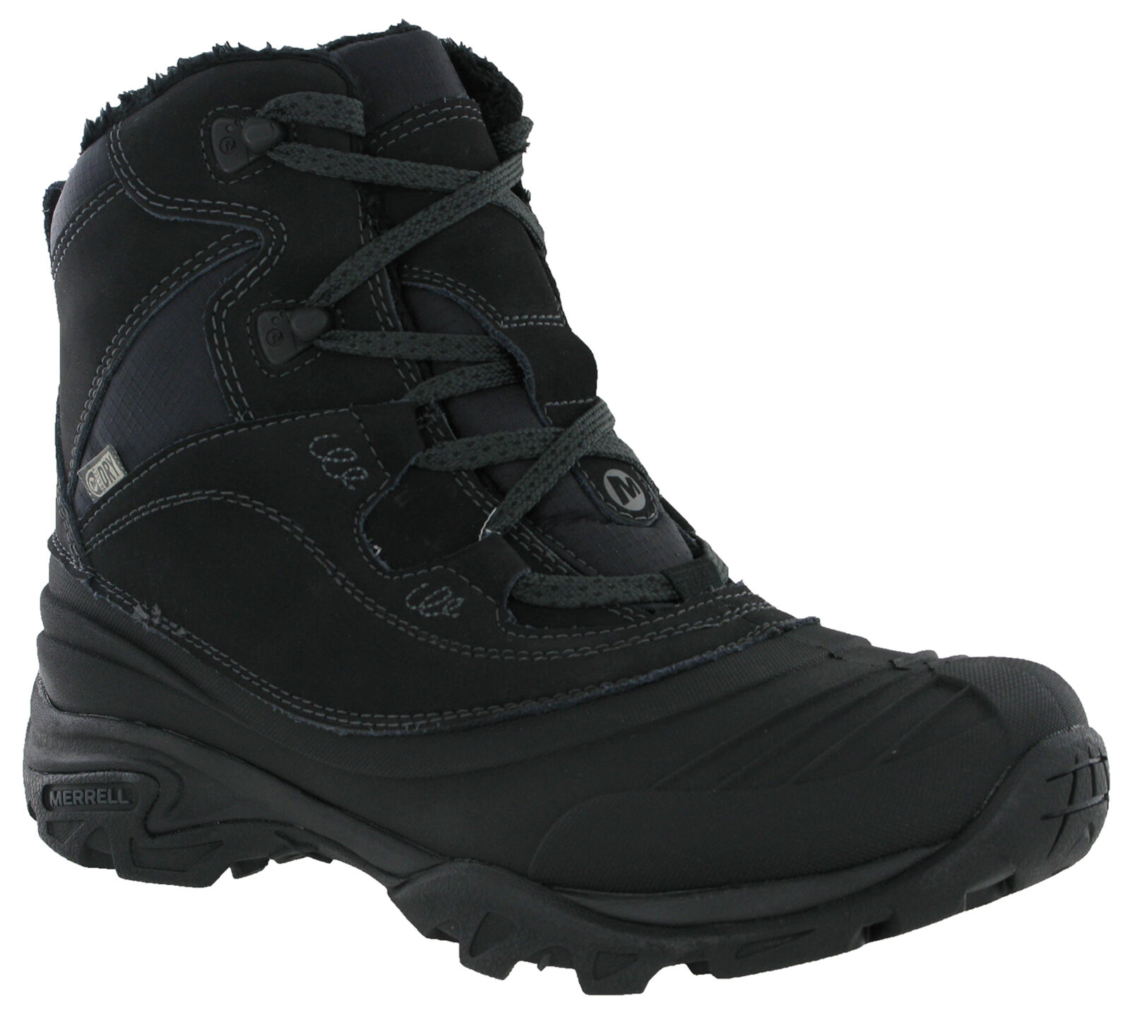 Merrell Snowbound Mid Waterproof Waterproof Mid Stiefel Walking Hiking Fur Lined Lace Damenschuhe 35bb60