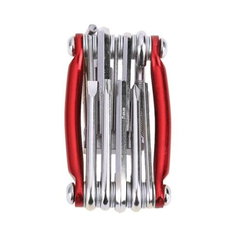 11in1 Portable Bicycle Repairing Set Bike Repair Tool Kit Wrench Screwdriver
