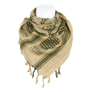 Plo Neckerchief Scarf Palestinian Shemagh Camo Scarf Army Parawing Paratrooper