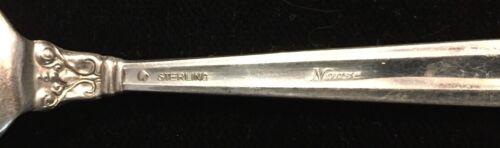 International Norse Flat H Butter Spreader Sterling Silver Flatware