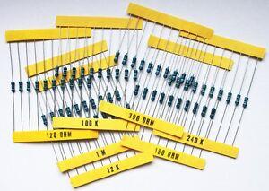 1200-Widerstaende-Sortiment-je-10-Stueck-E12-E24-1-1-4W-0207-Widerstand-0-25-W