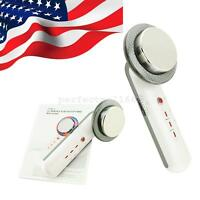3in1 Ultrasound Ultrasonic Beauty Skin Care Face Spa Machine Face Lift Massager