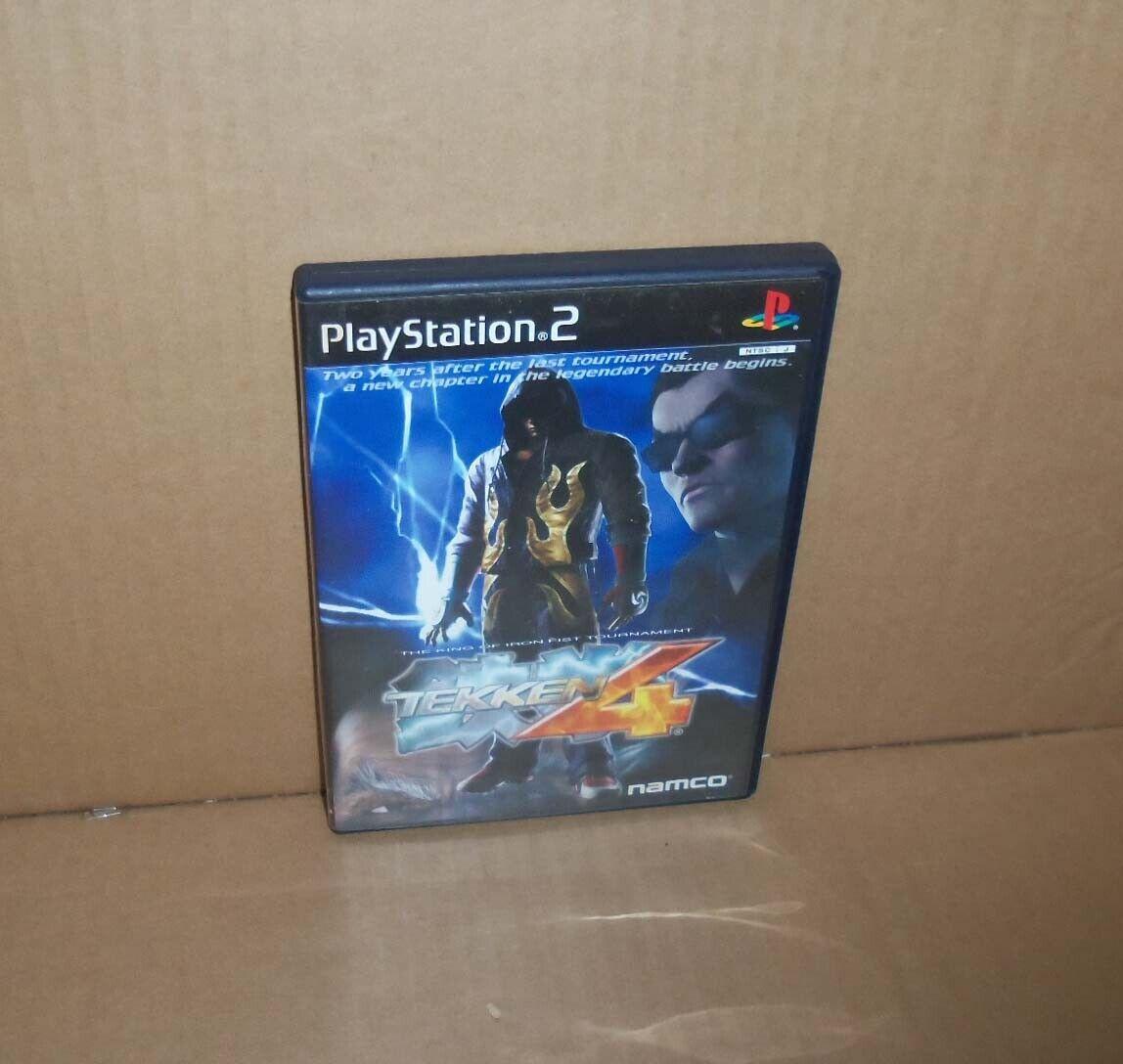 Ps2 Tekken 4 Japan Sony Playstation 2 Import Japanese Game For Sale Online