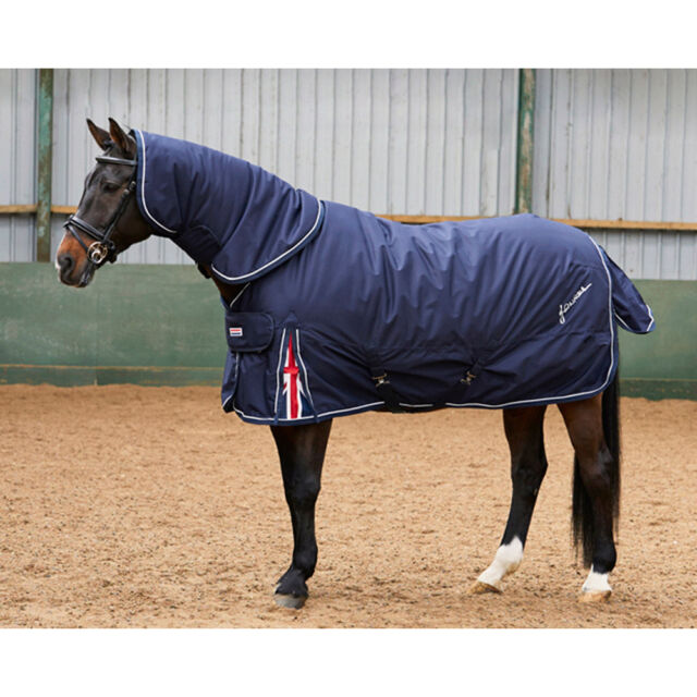 John Whitaker Union Jack Heavyweight Combo Detachbale Neck Horse Turnout Rug