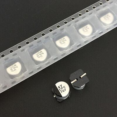 10pcs 6.3V 220uF 6.3V Nichicon UR 8x6.2mm SMD Chip type Capacitor