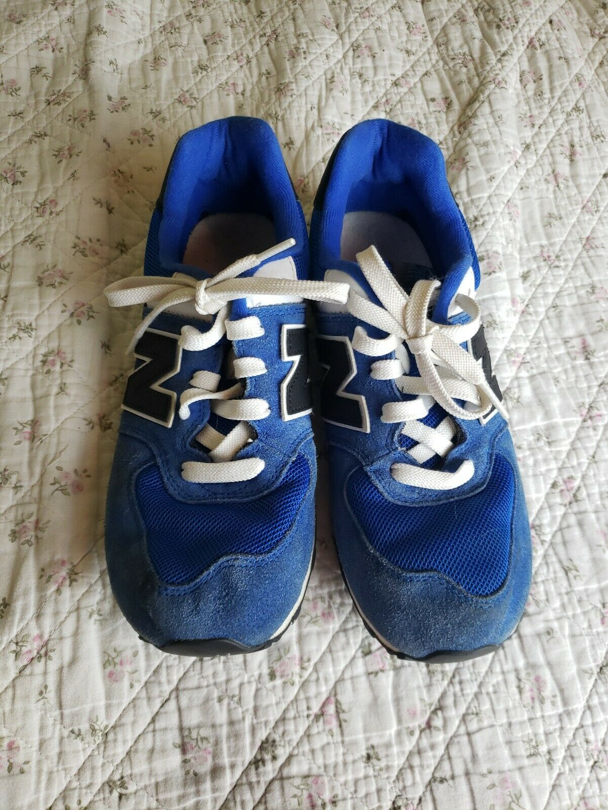 New Balance Women's 574 Classics Running Sneakers Shoes Size 6 Blue