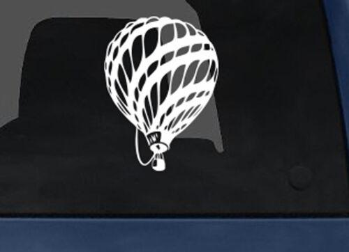 Hot Air Balloon 18th Century Stylized Car Tablet Vinyl Decal Flight Evolution