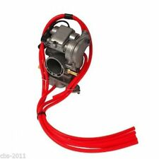 HONDA CR85 CR125 CR250 CRF150 CRF250 CRF450 5 PACK CARBURETTOR HOSE KIT IN RED