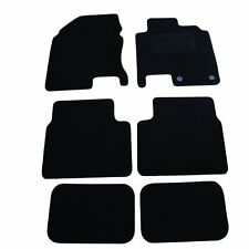 Nissan Qashqai +2 (Set of Six) Tailored Car Mats 2007 onwards - Black