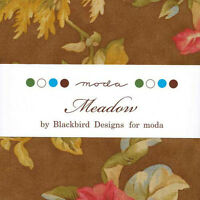 Meadow Charm Pack Moda Fabrics Blackbird Designs (42) 5 Inch Squares