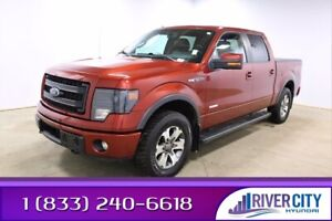 2014 Ford F 150 FX4 Accident Free,  Navigation (GPS),  Leather,  Heated Seats,  Sunroof,  Back-up Cam,  Bluetooth,