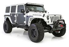 Smittybilt MAG Armor Skins 07-16 Jeep Wrangler JK 4 Door 76994 Black
