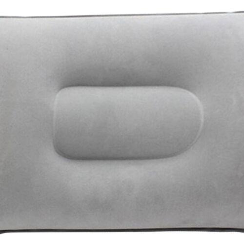 Ultralight Aufblasbare Kissen Luftkissen Packbares Reise Sitzkissen Hellgrau