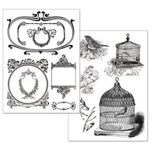034-034-papier-transfert-stamperia-meuble-Creations-amp-Relooking
