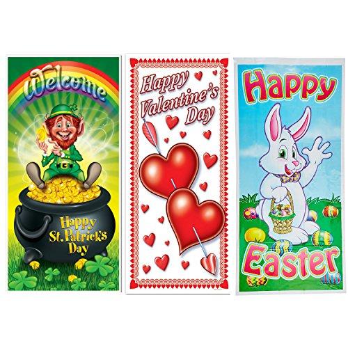 Easter Door Cover: Beistle Spring Holiday Door Covers