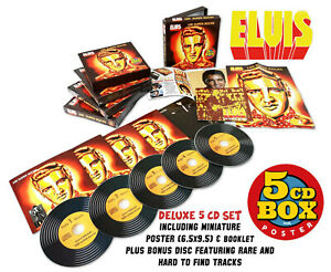 Elvis-Collectors-5-CD-Box-Set-100-SUPER-ROCKS-German-Edition