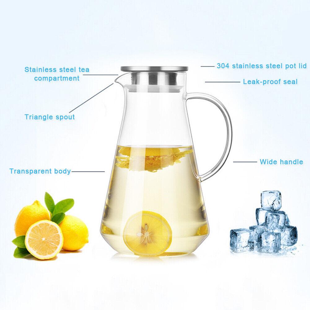 Glass Heat Resistant 1.5 L