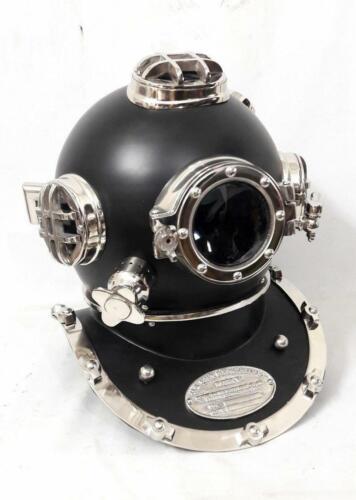 "Diving Helmet US Navy Mark V Scuba Marine Antique Divers Helmet 18/"" Inch Replica"