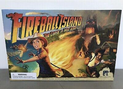 OEJ ~ Fireball Island ~ The Curse of Vul-Kar ~ Board Game ~ Restoration Games