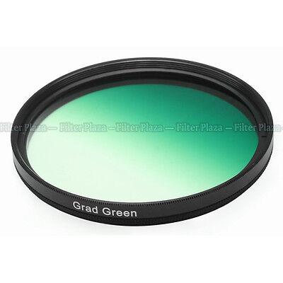 72mm 72 mm Graduated Gradual Green Color Special Effect Lens Filter Screw Mount