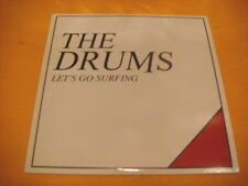 Cardsleeve Single CD THE DRUMS Let's Go Surfing PROMO 1TR 2010 surf indie rock