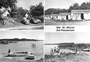 AK, Silz Kr. Waren Müritz, Am Fleesensee, vier Abb., 1984