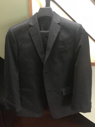 Boys Black Suit - Size 16