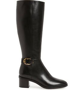 6604ac2f939 Tory Burch MARSDEN Tall Knee Riding Boots Flat Equestrian Booties ...