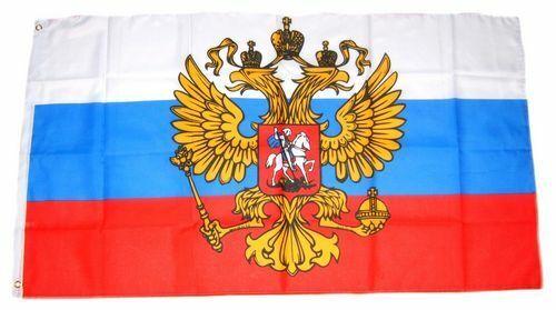 Fahne Russland Adler Hissflagge 60 x 90 cm Flagge