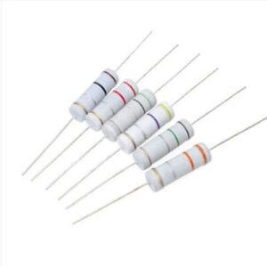 30 Values 300pcs 0.1 Ohm 750 Ohm ±5/% 1W Carbon Film Resistors Assortment Kit