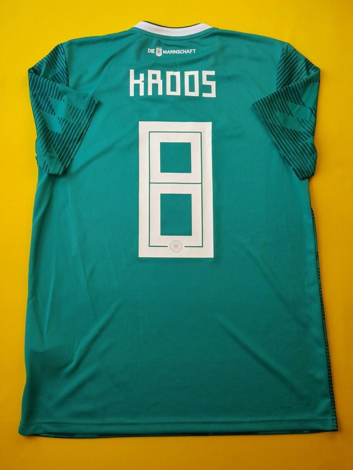 4.9 5 Kroos Germany soccer jersey medium 2018 shirt BR3144 football Adidas ig93