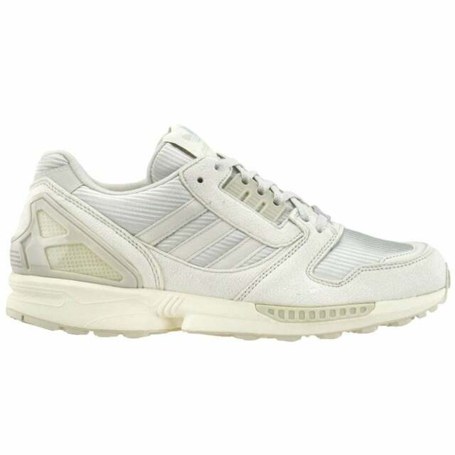 adidas Zx 8000 Lace Up Sneakers Mens Casual   Sneakers Grey  - Size 9.5 D