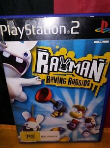 Rayman-Raving-Rabbids-Sony-PS2-Includes-Manual