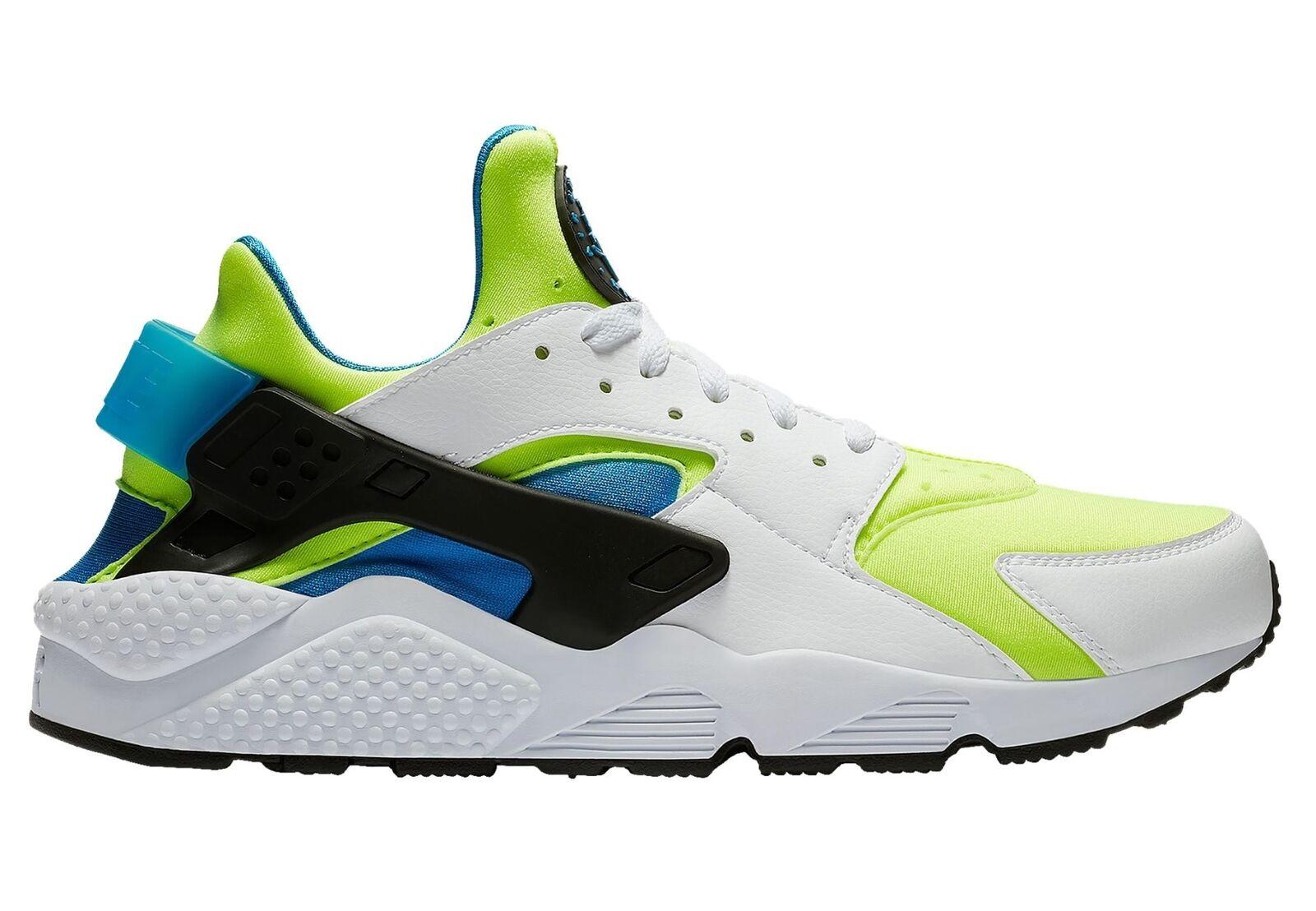 Nike Air huarache se grito Verde Hombre at4254-101 talla Blanco Volt Azul Zapatos talla at4254-101 9,5 759daf
