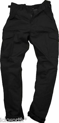 Mens Cargo Combat Work Trousers Adults Black Navy Green 28 to 44 Multi Pocket