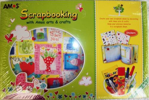 Amos Arts /& Crafts Premium Scrapbooking Kit