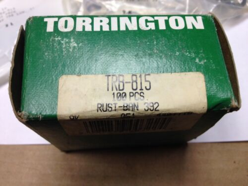 "Bag of 10 Torrington .5/"" Hole .06/"" Thick TRB815 Thrust Races .92/"" Diameter"
