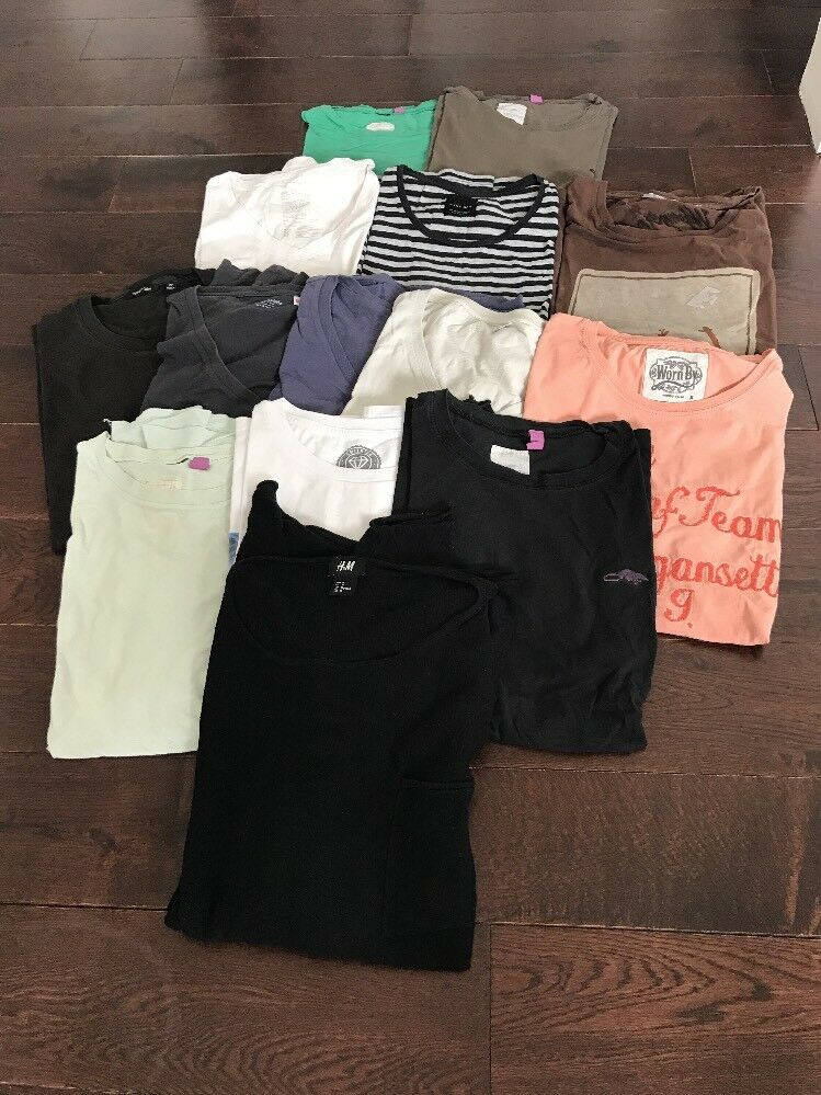 SALE Bundle Of 14 Mixed- Marc Jacobs Uniqlo Zara Gap Worn By H&M T Shirts Tops