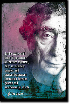 GABOR MATE ART PRINT PHOTO POSTER GIFT QUOTE DRUG ADDICTION THERAPY