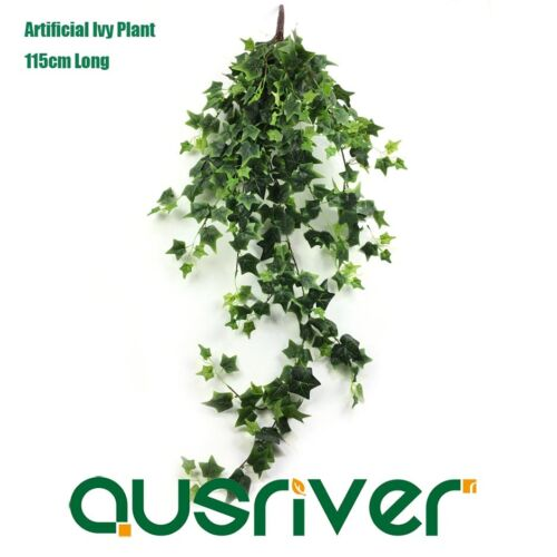 Premium 115cm Silk Leaf Artificial Ivy Plant Fake Trailing Vine Garland Decor
