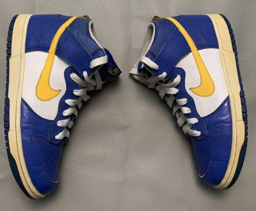 "2007 Nike Dunk High ""euro Champs"" Size 9.5"