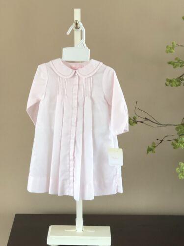 Petit Ami Pink Pintuck Gown NWT * NEWBORN