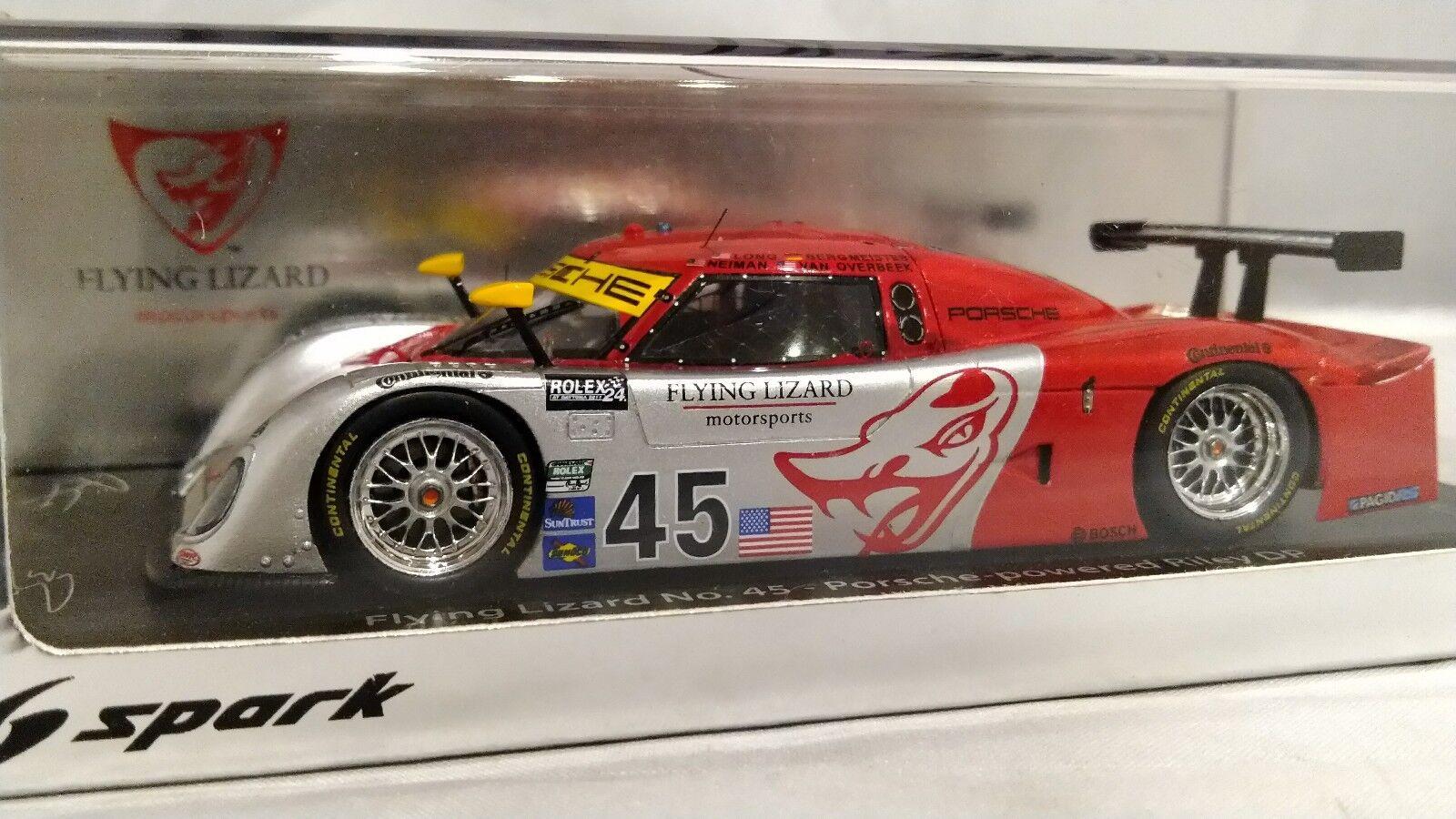 Todos los productos obtienen hasta un 34% de descuento. Autografiada  Spark 1 1 1 43 Flying Lizard RILEY MKXX Porsche Polo 2011 Daytona 24h  Con 100% de calidad y servicio de% 100.
