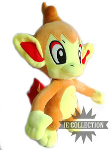 Pokemon chimchar soft toy large 35 cm panflam infernape - Pokemon ouisticram ...