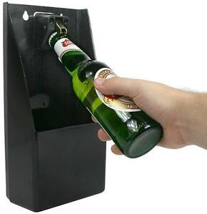 Professional Wall Mounted Stand Up Bar Pub Bottle Opener